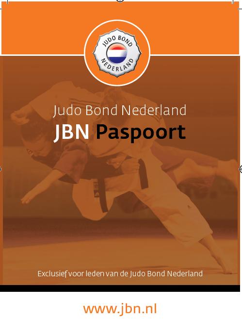 Judo dedemsvaart- Paspoort